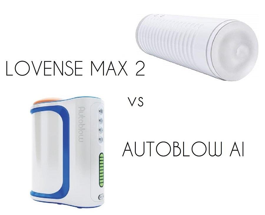 autoblow ai vs lovense max 2