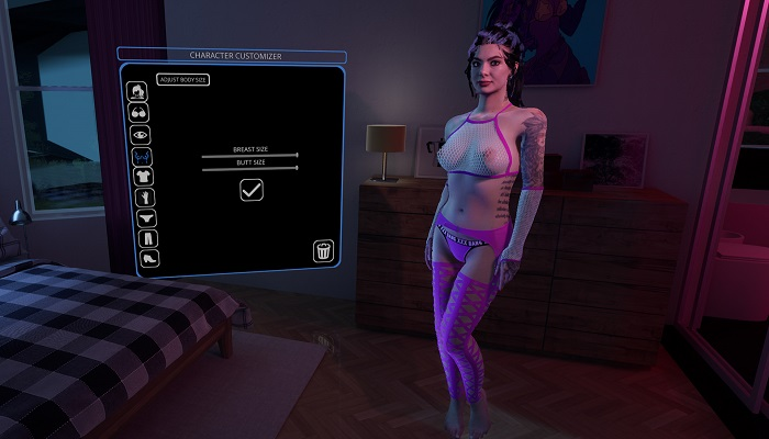 interactive virtual sex simulations